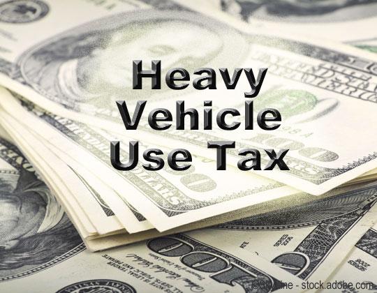 HVUT Heavy Vehicle Use Tax