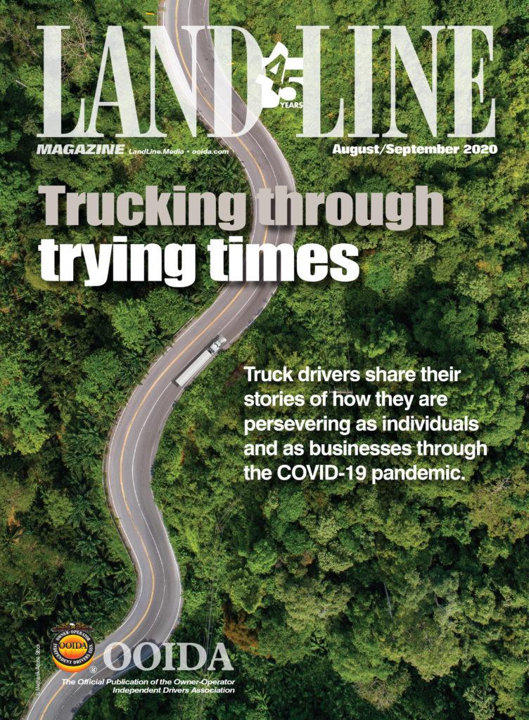 August September 2020 cover