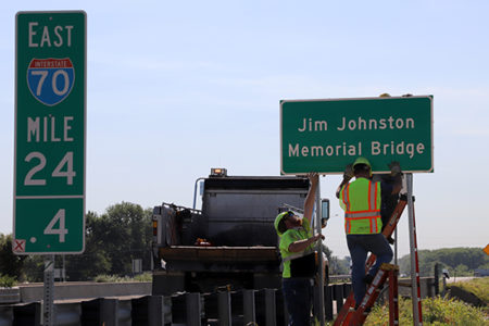 Jim Johnston Memorial Bridge