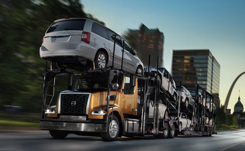 Volvo's newly updated auto hauler
