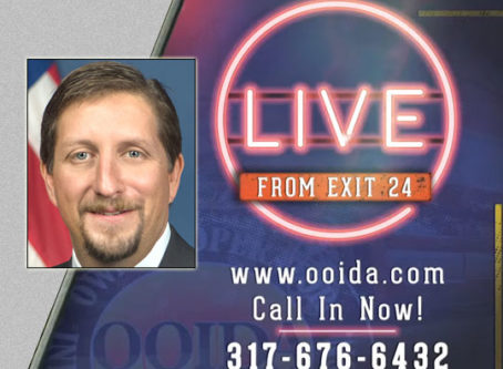 FMCSA's DeLorenzo to answer HOS questions on 'Live From Exit 24'