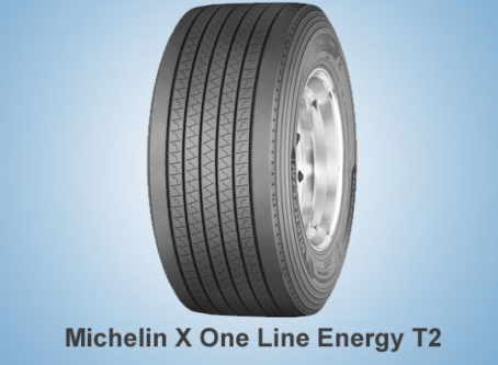 New trailer tire: Michelin X One Line Energy T2