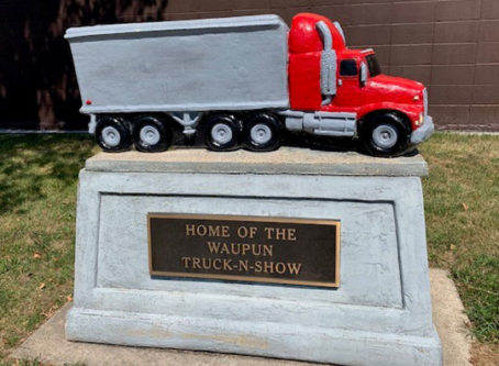The Spirit stops at Waupun Truck-n-Show truckers