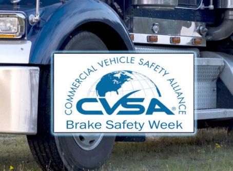 CVSA Brake Safety Week