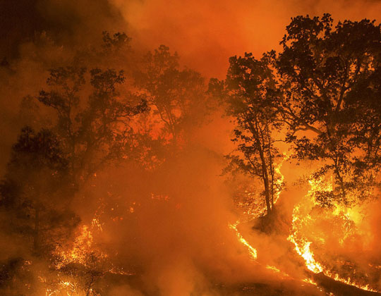 Wildfires continue to threaten California highways - Land Line