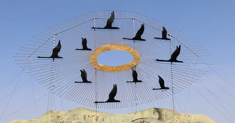 'Geese in Flight' – Terry Feuerborn/Flickr