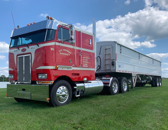 Cabover at the Tower Tree Truck Classic 2020