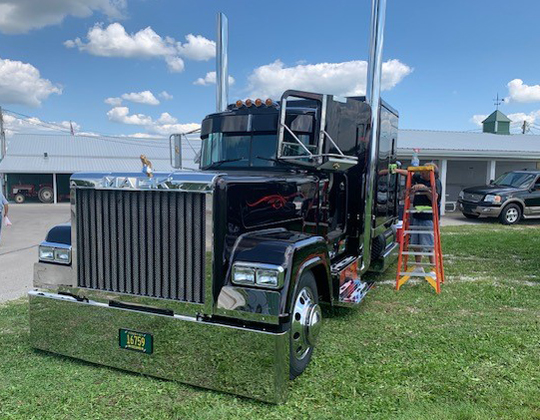 Sweet truck at the Tower Tree Truck Classic