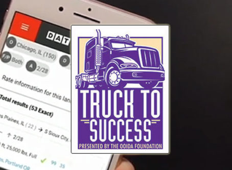 Truck to Success to include info on DAT load boards