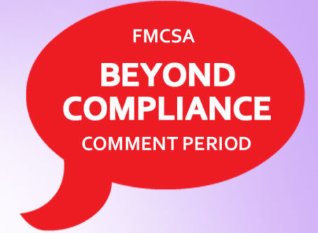 Beyond Compliance ICR comments due Sept. 17