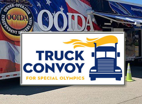 OOIDA's tour trailer heads to Special Olympics Convoy