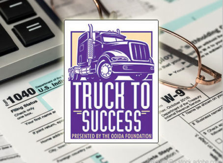 Truck to Success course covers taxes for owner-ops