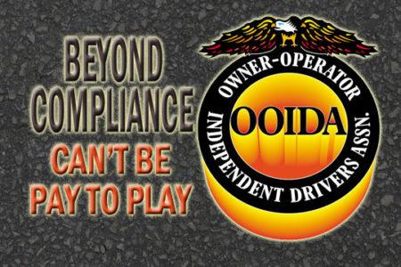Beyond Compliance can't favor big fleets, OOIDA says