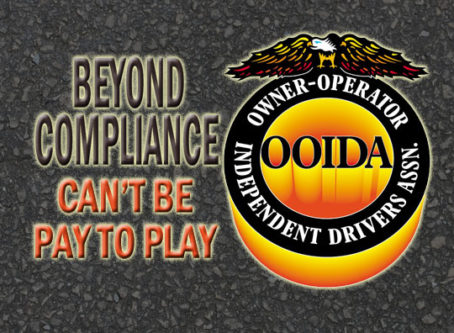 Beyond Compliance can't favor big fleets, OOIDA says