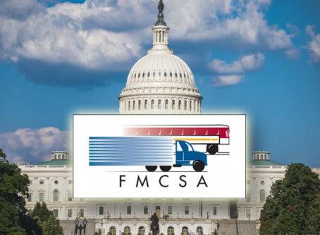 FMCSA logo, U.S. Capitol