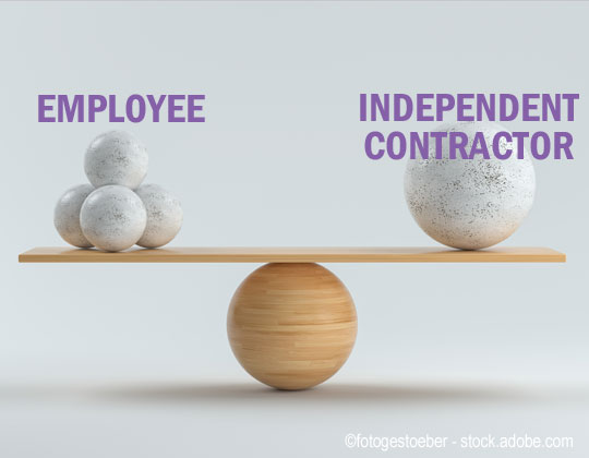 independent contractor Department of Labor tackles worker classification definition