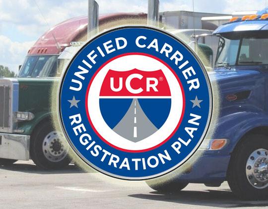 UCR Unified Carrier Registration Plan