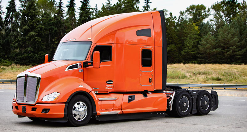 Top award in the Transition Trucking competition, a new Kenworth T680