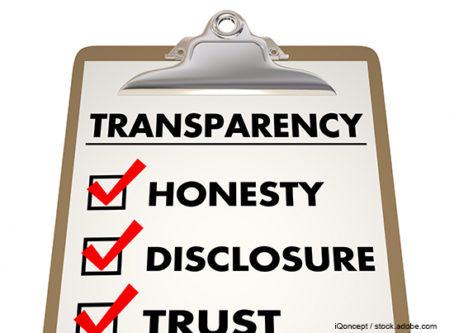 Broker transparency