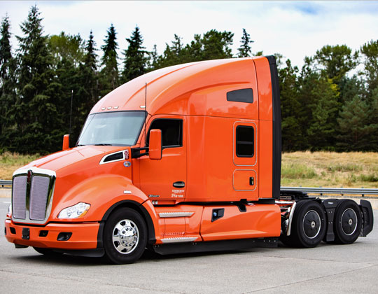 Transition Trucking grand prize, a new Kenworth T680