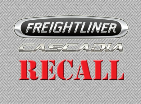 Freightliner Cascadia recall