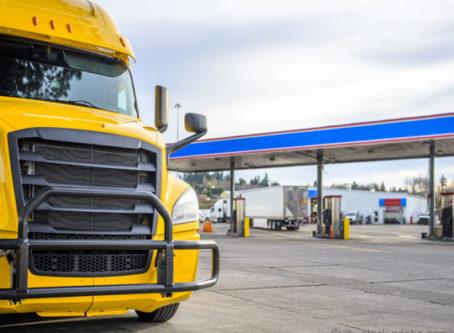 diesel prices, truck stop