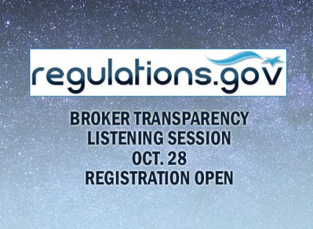 Broker transparency listening session registration now open