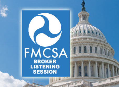 Truckers, brokers express views during FMCSA's broker listening session