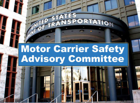 MCSAC, the Motor Carrier Safety Advisory Committee