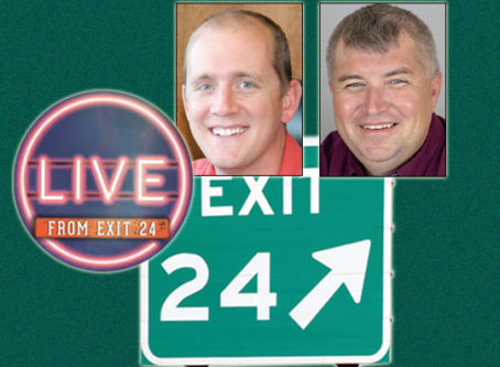 The next 'Live From Exit 24' features Mike Matousek and Lewie Pugh