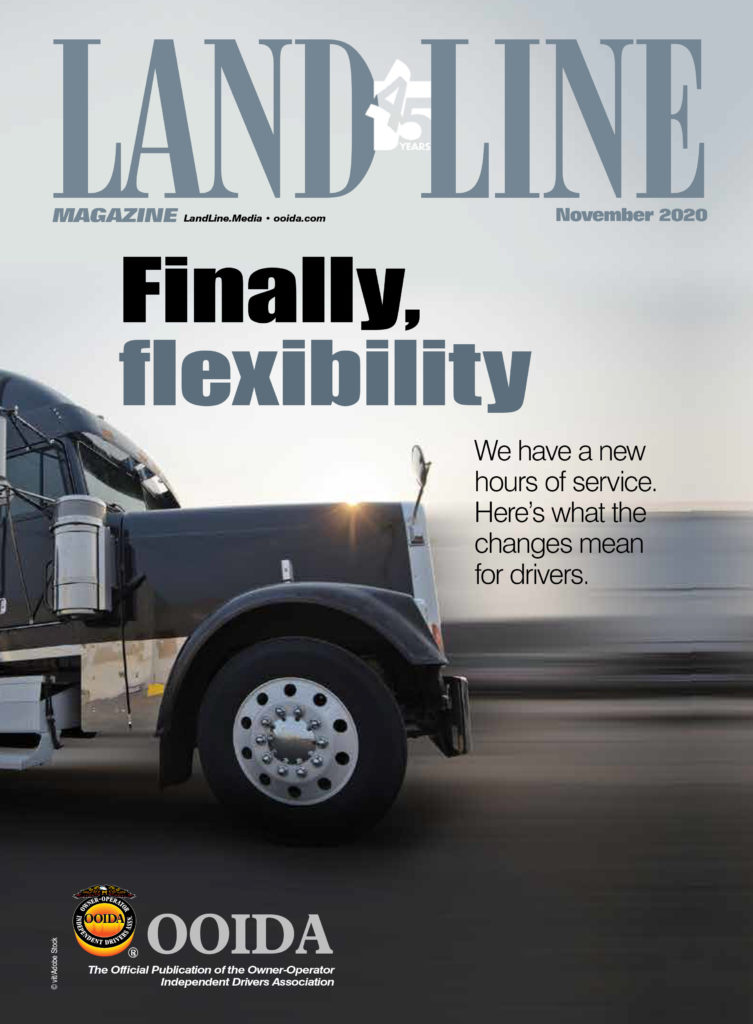 November 2020 Land Line Magazine Cover
