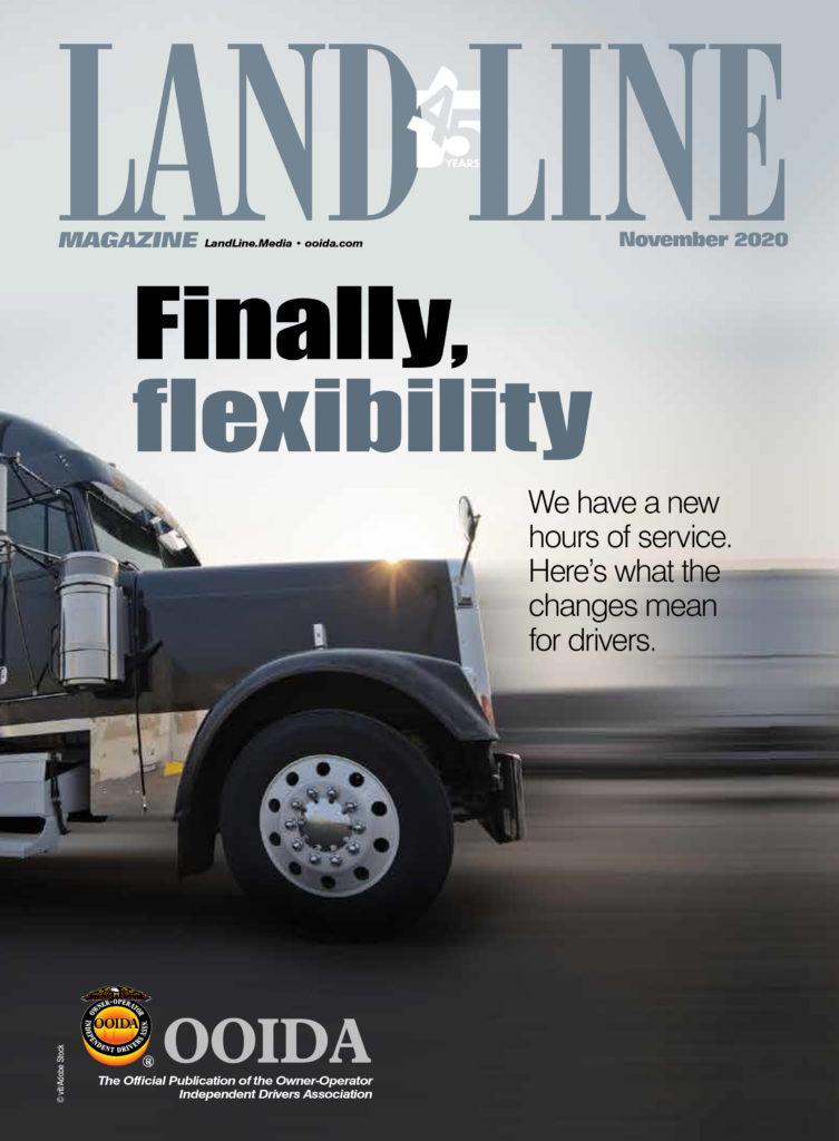 November 2020 Land Line Magazine Cover