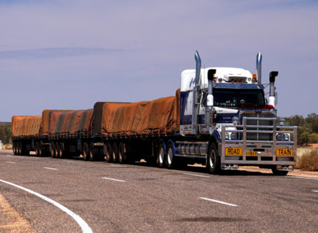 longer, heavier trucks road train