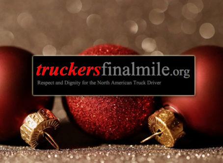 Truckers Final Mile Sleigh Bells and Santa seeks donations