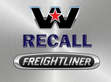 Western Star, Freightliner recall