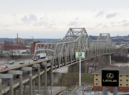 Brent Spence Bridge remains closed after fiery truck crash