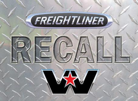 Recall: Freightliner, Western star