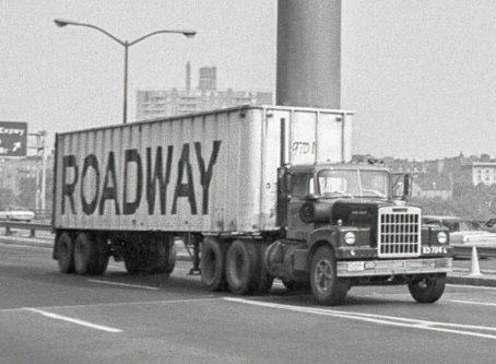 Roadway truck circa 1972