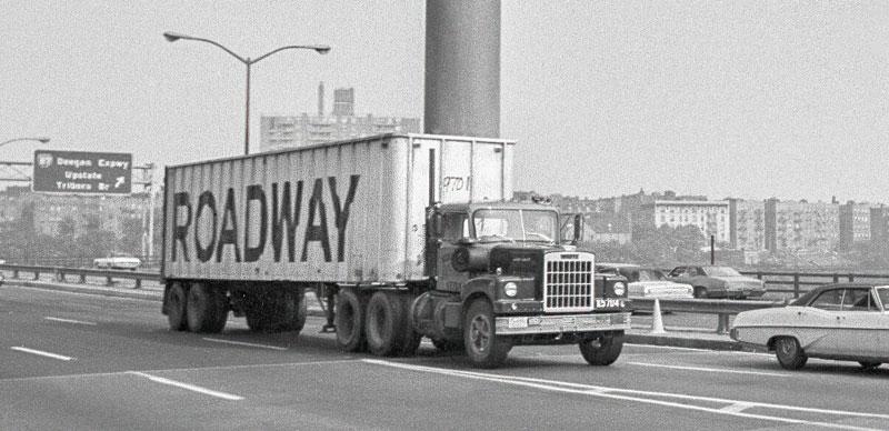 Roadway truck, circa 1972