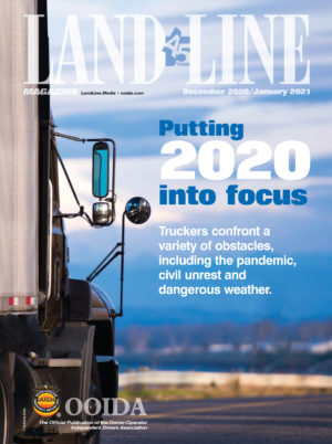 December/January 2021 Land Line Magazine cover