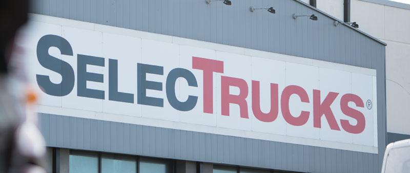 Daimler's SelecTrucks used truck division