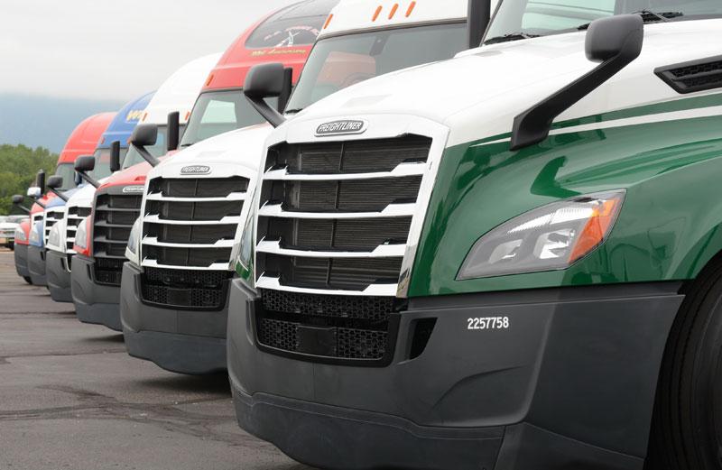 SelecTrucks' used trucks, 4-year-old Freightliner Cascadias