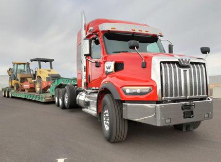 Western Star 49X heavy-haul tractor