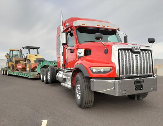Western Star 49X heavy-haul tractor new truck market