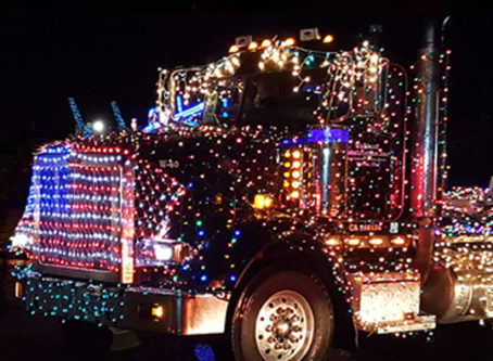 Truckers Christmas Parade