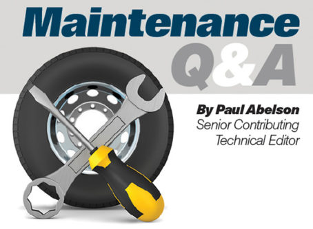 Maintenance Q&A 2021
