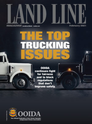 February 2021 Land Line Magazine cover