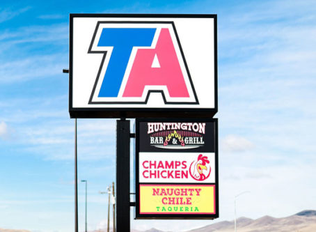 TravelCenters of America's TA in Huntington, Ore.