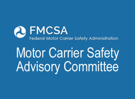 FMCSA's Motor Carrier Safety Advisory Committee