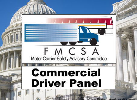 FMCSA names new commercial motor vehicle driver panel members